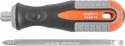 756210 Отвертка стрежневая двусторонняя ROUND GRIP, РН2,SL6x100 мм