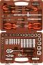 """АКЦИЯ! OMT69S Универсальный набор инструмента торцевые головки 1/4"""", 1/2""""DR 4-32 мм, аксессуары к ним, отвертки, 69 предметов"""