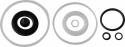 OHT203RK Рем.комплект для подкатного домкрата 3 т. OHT203