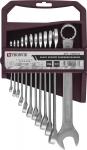 CWS0012 Набор ключей комбинированных на пластиковом держателе 6-22 мм, 12 предметов